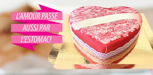 Gâteau d'amour à commander en ligne