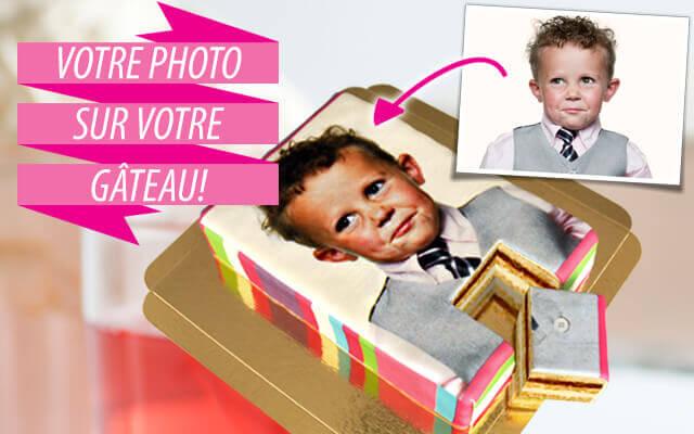 Gâteau avec photo à commander en ligne