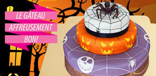 Gâteaux à Halloween