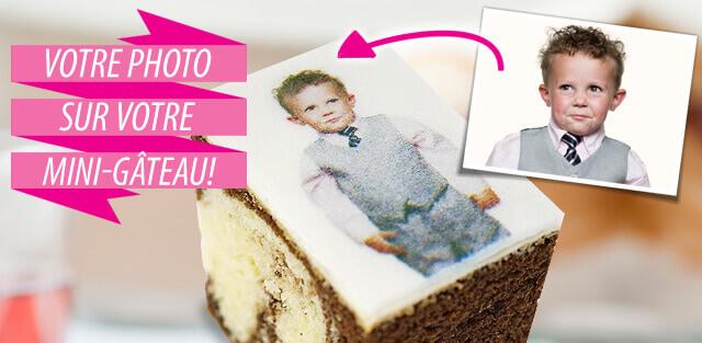 Mini-Gâteaux à commander en ligne