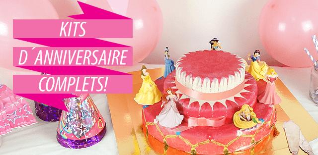 Kit décoration table anniversaire pour enfants!