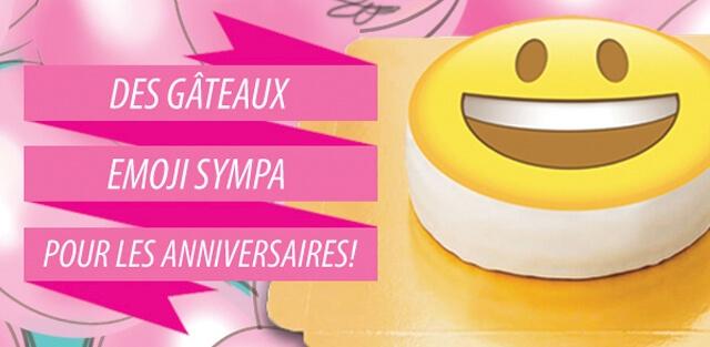 Smiley Emoji Sur Gateaux Votregateau Fr