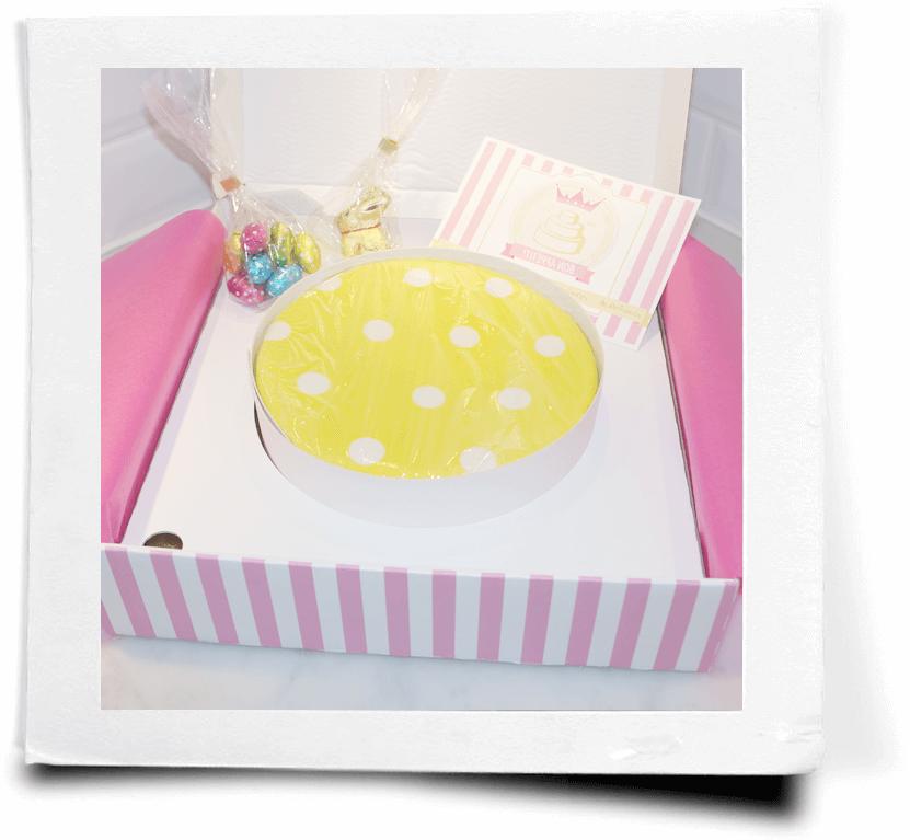 carton de gâteau