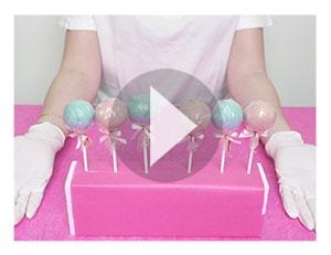 Faire un présentoir à Cake-Pops à partir de leur emballage