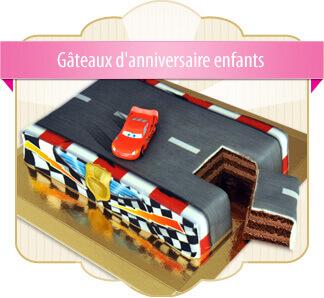 Gâteaux d'anniversaire enfants