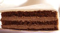 Gâteau au chocolat avec fourrage chocolat