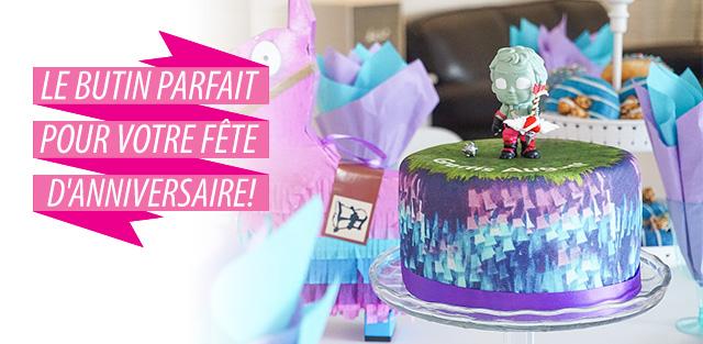 Fortnite sur gâteaux
