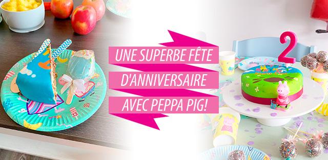 Peppa Pig sur gâteaux