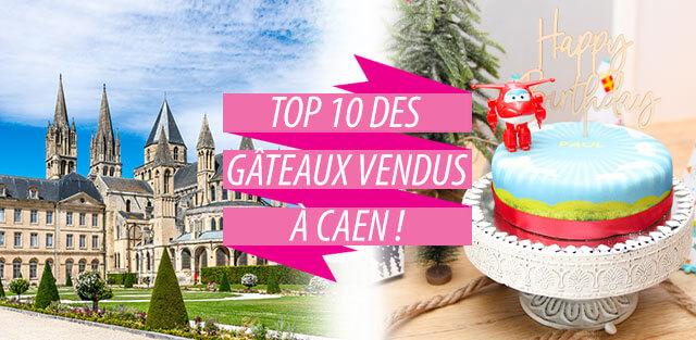 Livraison de gâteaux à Caen !
