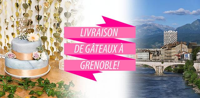 Livraison de gâteaux à Grenoble !