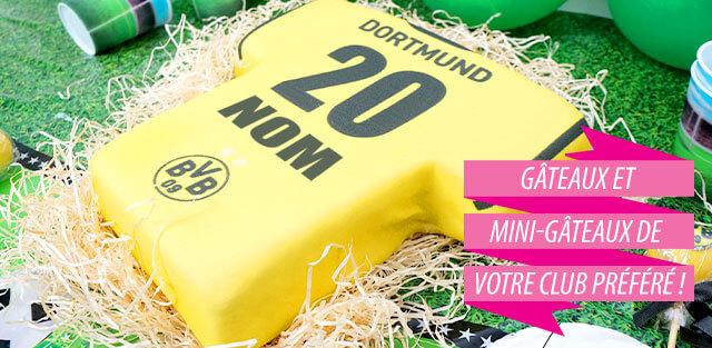 Gâteaux Borussia Dortmund
