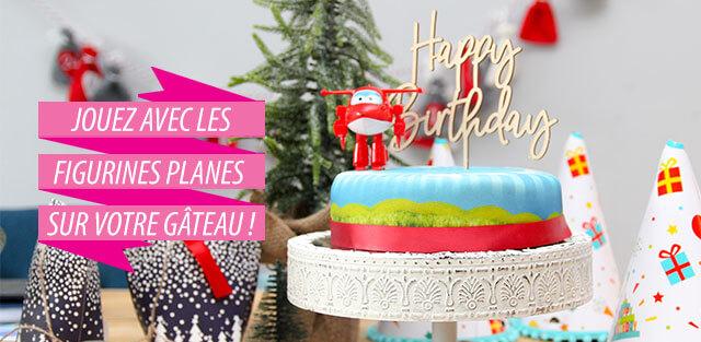 Gâteaux Planes