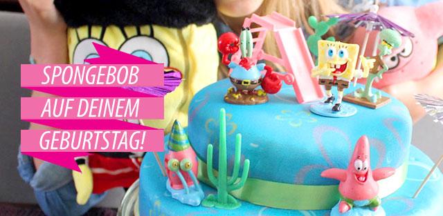 Gâteaux figurine Bob l'éponge
