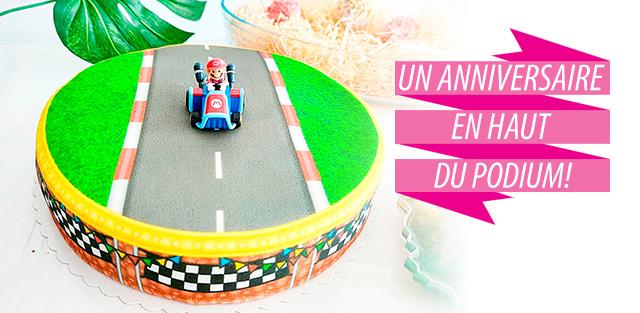 Mario Kart sur gâteaux