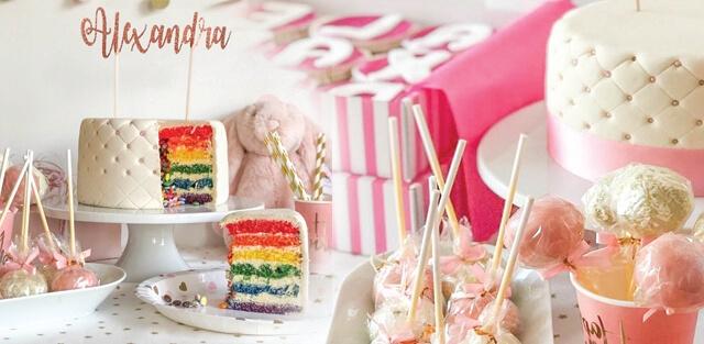 Gâteaux d'anniversaire pour filles