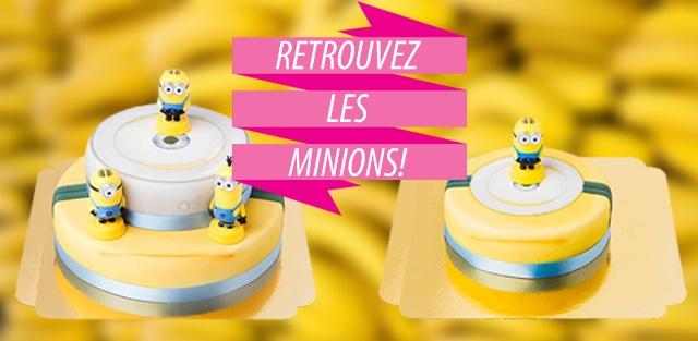 Gâteaux Minions