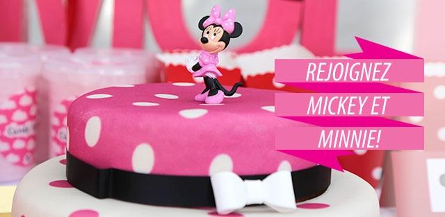 Gâteaux Minnie