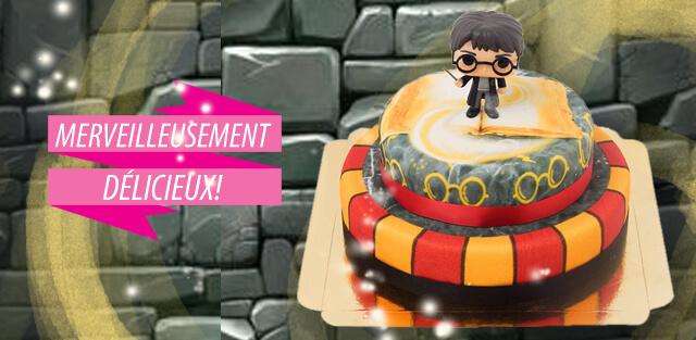 Harry Potter sur gâteaux