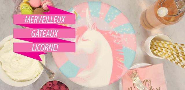 Gâteaux Licorne