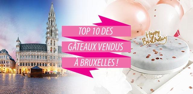Livraison de gâteaux à Bruxelles