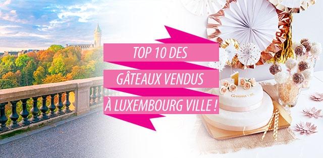 Livraison de gâteaux à Luxembourg Ville