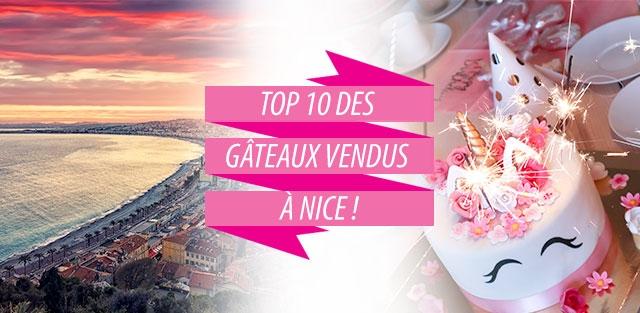 Livraison de gâteaux à Nice !