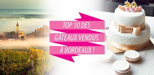 Livraison de gâteaux à Bordeaux