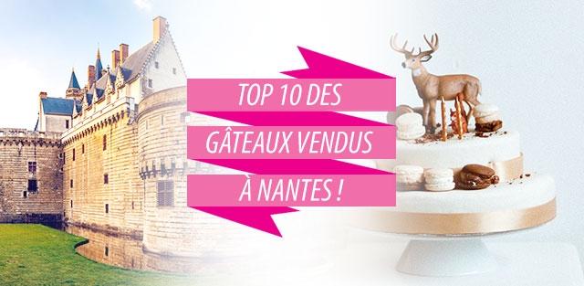 Livraison de gâteaux à Nantes