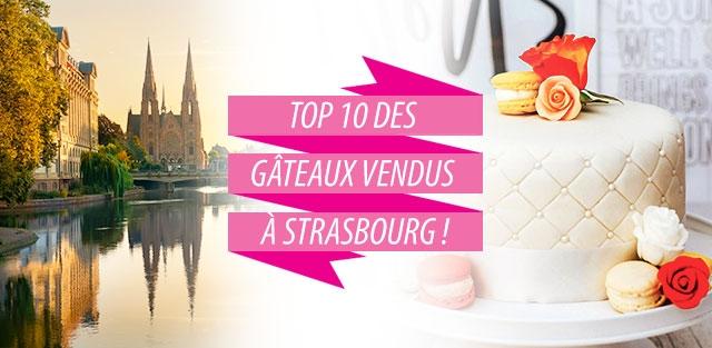 Livraison de gâteaux à Strasbourg