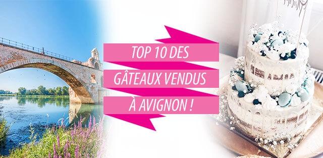 Livraison de gâteaux à Avignon