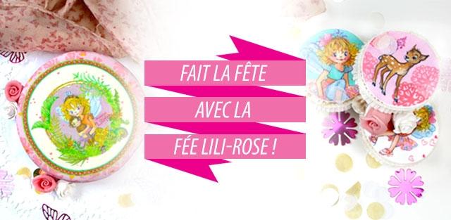 Gâteaux Fée Lili-Rose