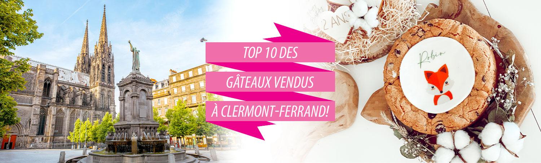 Livraison de gâteaux à Clermont-Ferrand !