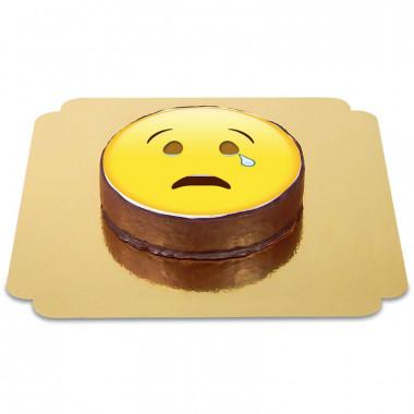Gâteau Sacher Emoji Pleurs