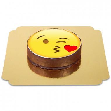 Gâteau Sacher Emoji Bisou