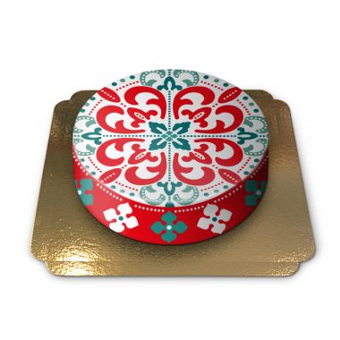 Gâteau motif arabesque par Pia Lilenthal