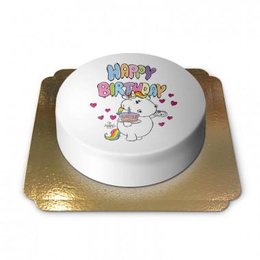 Gâteaux d'anniversaire Licorne Chubby Unicorn