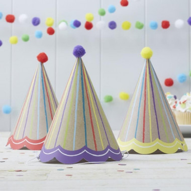 """Kit de décoration """"Anniversaire coloré"""" (gâteau non inclus)"""