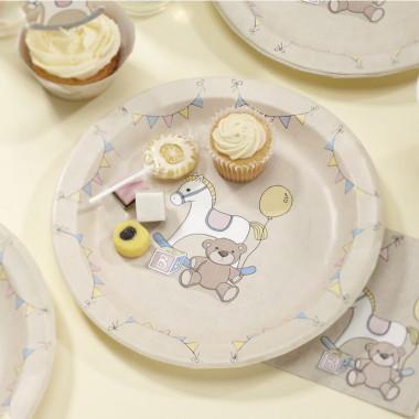 """Kit de décoration """"Baby Party"""" (gâteau non inclus)"""