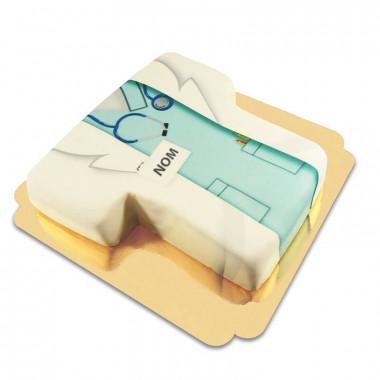 Gâteau médecin
