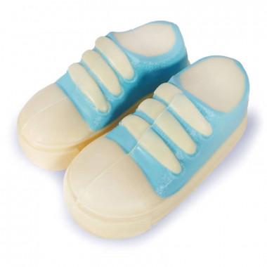 Chaussures de Bébé en Chocolat (Bleu)