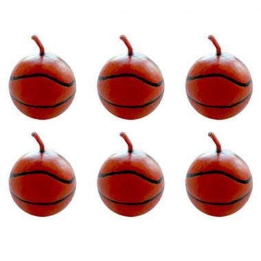 Bougies Basket (6 pièces)
