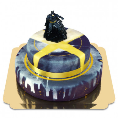 Batman sur Gâteau Chauve-Souris à deux étages