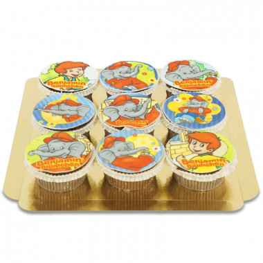 Cupcakes Benjamin l'éléphant