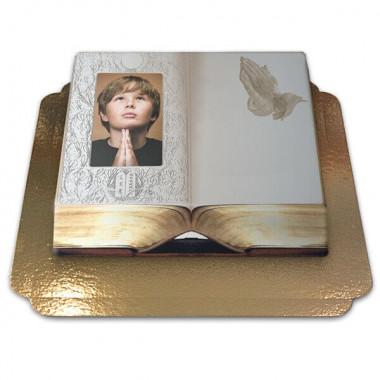 Gâteau-Photo Cadre thème Bible