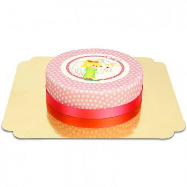 Gâteau Bibi Blocksberg et sa licorne