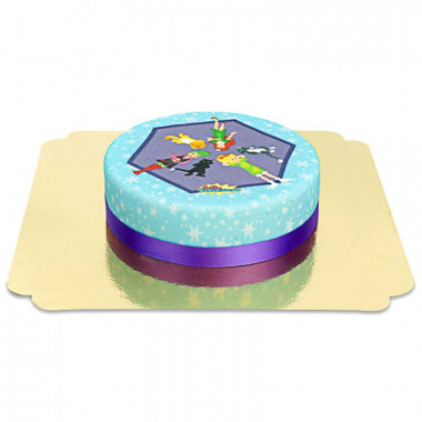 Gâteau Bibi Blocksberg et ses amis