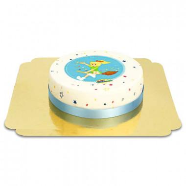 Gâteau Bibi Blocksberg sur son balai