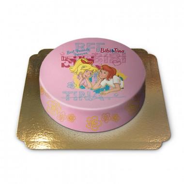 Gâteau Bibi & Tina – Les meilleures amies