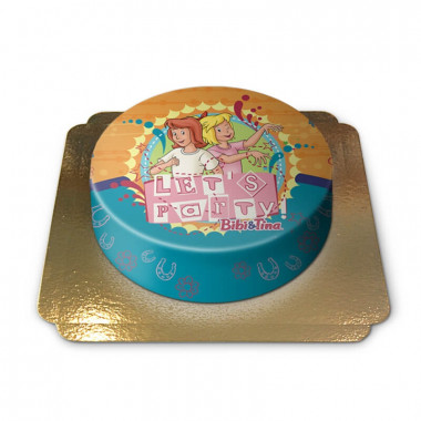 Gâteau Bibi & Tina font la Fête