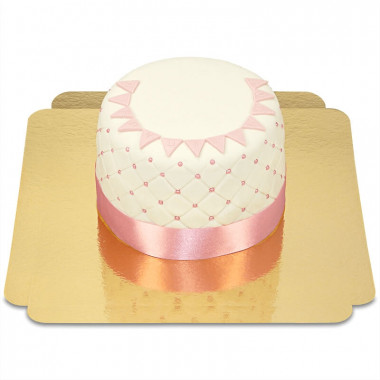 "Gâteau ""Happy Birthday"" Deluxe - Rose"